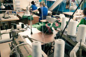 Швейное оборудование и цех пошива