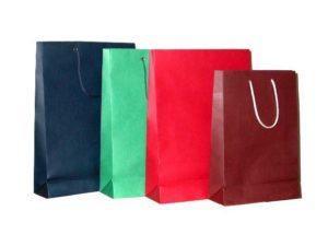 Текстильный крафт пакет
