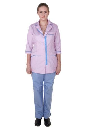 Медицинский халат и брюки (комплект)
