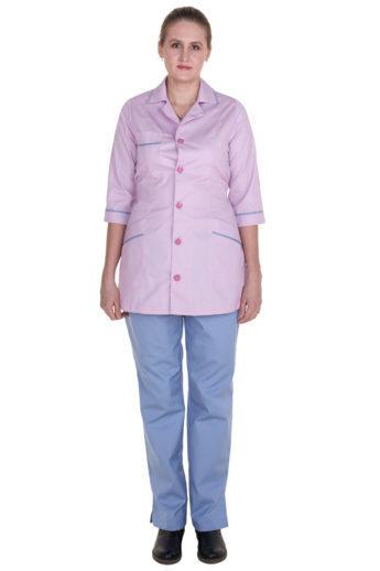 Комплект халат и брюки для уборщика