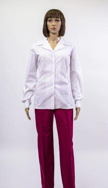 Комплект из блузки и брюк