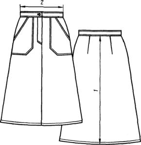ГОСТ 27574-87 «Костюмы женские для защиты от общих производственных загрязнений и механических воздействий. Технические условия»