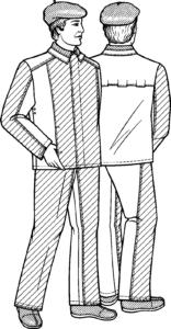 ГОСТ 12.4.045-87«ССБТ. Костюмы мужские для защиты от повышенных температур. Технические условия»